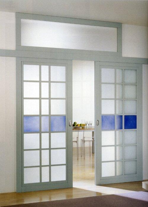 Porte in vetro e alluminio ponti tende ravenna - Porte scorrevoli per interni ...
